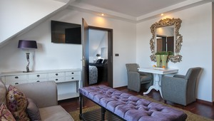 Luxe suite zithoek